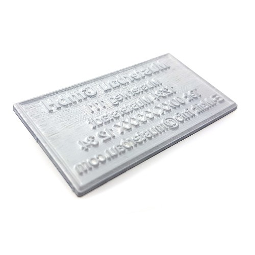 Replacement text plate Colop 2400 (incl. ink pad E/2600)