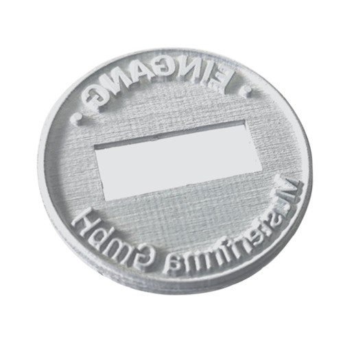 Replacement text plate Trodat date stamp 54045 - 45mm (incl. ink pad 6/15)