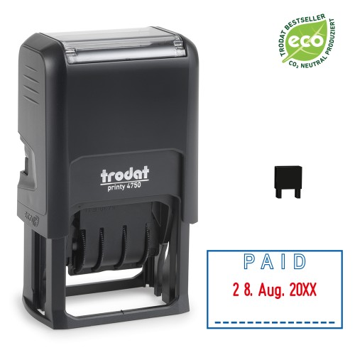 Trodat date stamp 4750/L - PAID