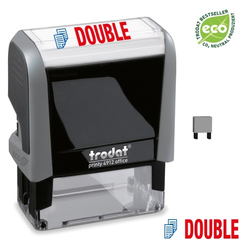 Trodat Office Printy 4912 'DOUBLE'